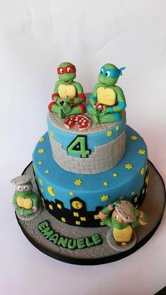 Ninja turtle cake - Cake by Barbara Viola