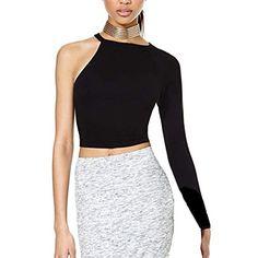 DIY Tutorial Clothes Refashion / DIY No Sew, One Shoulder Shirt - Bead&Cord