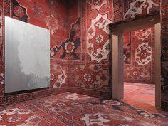 tappeti   tapetes   catifes   rugs - palazzo grassi - venezia - rudolf stingel - 2013 - photo stefan altenburger