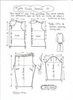 Source by Look pijama Source by KidsBabyMomFashion Look pijama Sewing Pants, Sewing Clothes, Diy Clothes, Baby Dress Patterns, Kids Patterns, Pajama Pattern, Pants Pattern, Short Bebe, Unisex