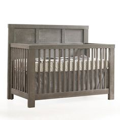 "Rustico ""4-in-1"" Convertible Crib by Natart Juvenile, Made in Canada, $1,099 Free Shipping"