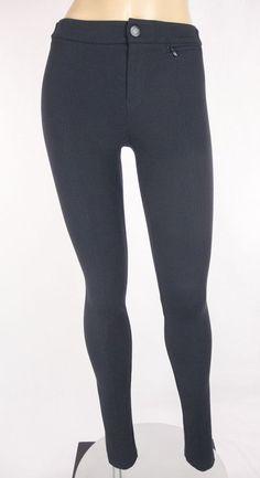 VINCE Pants Size 0 XS Blue Skinny Leg Leggings #Vince #CasualPants