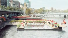 Pool planned for Melbourne's Yarra River