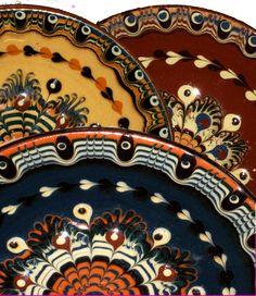 Troyan Style Bulgarian Pottery - Taken at Irvington Vintage