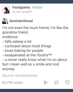 I'm more of the Mum friend, but this is too cute not to repin-