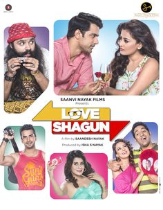 Love Shagun [26-Feb-2016] | Language: Hindi | Genres: #Comedy, #Romance | Lead Actors: Anuj Sachdeva, Nidhi Subbaiah, Shamin Mannan | Director: Sandesh Nayak | Producer(s): Isha Nayak | Music: Rishi Siddharth, Ashish Pandit, Band Of Bandagi | Cinematography: Karthik Palani | #cinerelease #cineoceans #2016cinema