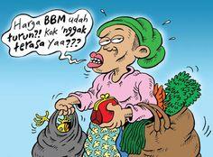 Mice Cartoon, Rakyat Mereda - Aprl 2016: Harga BBM Turun