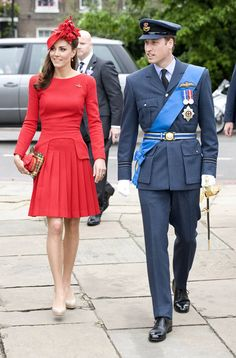 Catherine, Duchess of Cambridge and Prince William, Duke of Cambridge prepare to board the royal barge 'Spirit of Chartwell' during the Thames Diamond Jubilee Pageant on June 3, 2012 in London, England.