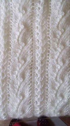 Easy Knitting Patterns, Knitting Charts, Lace Knitting, Knitting Designs, Stitch Patterns, Knit Crochet, Crochet Patterns, Diy Crafts Knitting, Diy Crafts Crochet