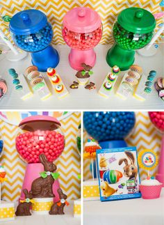 Cute Gumball containers--Made out of terra cota pots