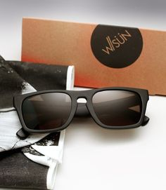 Waiting For The Sun's hand-carved all wooden sunglasses offer a unique look and feel like no other. Handmade in Paris France, Waiting for the Sun sunglasses are meticulously constructed using super lightweight natural materials such as Australian tea wood, rose wood, or bamboo.