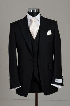 High class groom suit with vest