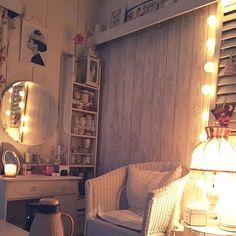Bedroom/照明/雑貨/DIY/夜/ホワイトインテリア...などのインテリア実例 - 2015-11-27 16:14:49 | RoomClip (ルームクリップ)