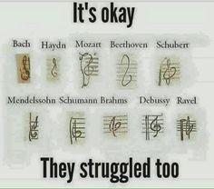 Musical nerd out. Claude Debussy, Music Jokes, Funny Music, Piano Funny, Funny Quotes, Funny Memes, Hilarious, Band Jokes, Band Nerd