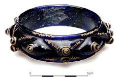 "Celtic glass bracelet of the ""Érsekújvár"" type from Komját (Nitra) in south-western Slovakia (3rd c. BC)"
