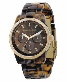 Michael Kohrs Tortoise Shell Watch <3