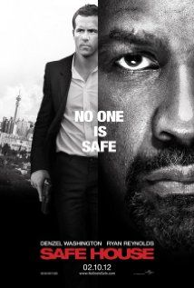 Safe House (2012)  This is not my kind of film, but there were slim pickings on Israeli TV the other night.  That said, I like Denzel Washington as much as the next person and Ryan Reynolds is easy on the eyes.  I just don't get these action films where there is such a lack of realism that the protagonists can practically fly.  It somehow makes it dull, despite non-stop action.
