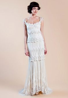 so beautiful. this is the dream dress.most beautiful dress I have ever seen!  Claire Pettibone   Kristene   The Three Graces Collection
