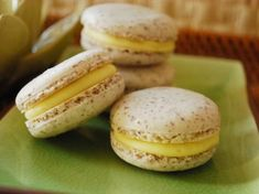Coconut Macarons with White Chocolate-Mango Ganache | Tasty Kitchen: A Happy Recipe Community!