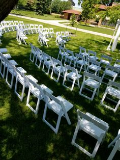 I Do Events is a full service wedding design & rental company with locations throughout central Illinois & Iowa. Central Illinois, White Gardens, Garden Chairs, Iowa, Wedding Designs, Events, Furniture, Lawn Chairs, Arredamento