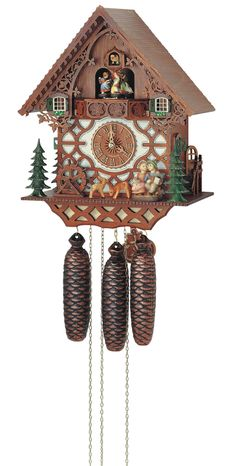 Anton Schneider Cuckoo Clocks - this is very similar to the custom cuckoo we bought in The Black Forest.  Ours has a custom hand carved alp horn player