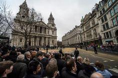 Margaret Thatcher's Funeral London 2013