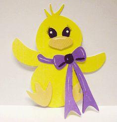 paper piecing easter | Paper Piecing Chick