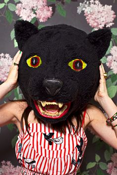 EMAILED AND PINNED  FAW DEADbear mask by cody cloud,