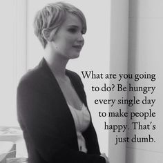 Jennifer Lawrence new short hair! Love it