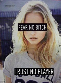 no fear, no trust