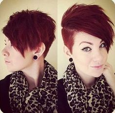If I ever got a short hair cut, this would be it.