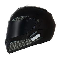 Capacete MT Helmets Optimus Escamoteável Preto Brilhante - MarquinhoMotos