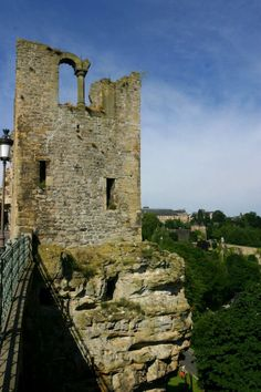 Fortifications in Luxembourg City, Luxemburg ... seen and explored!