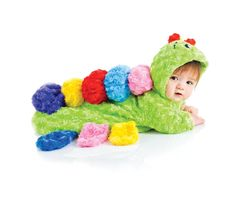 Underwraps Green Colorful Caterpillar Bunting Costume @Looksgud.in #Underwraps…