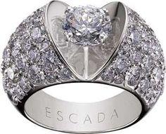 cool Bague Diamant - Tendance 2017/2018  : Escada diamond ring...