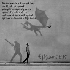 Ephesians 6:11 Put on the whole armour of God, that ye may be able to stand against the wiles of the devil.