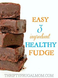 Made with just coconut oil, honey and cocoa powder, this easy chocolate fudge makes a super yummy healthy snack that you can feel good about eating!