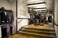 Ben Sherman flagship store by Brinkworth London 03