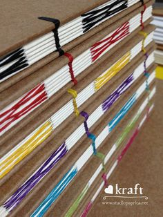 Cadernos da coleção Love Kraft em produção - studio Páprica