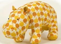 Hippo Pattern / Simple patterns / SECOND STREET