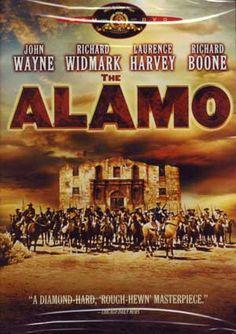 The Alamo (1960) Starring John Wayne; Directed by John Wayne