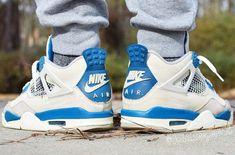 best website 327a8 b133d Rumor  Air Jordan 4 Military Blue With Nike Air Releasing In 2019 Jordans  Sneakers,