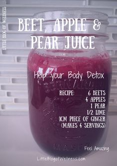 Rüben-, Apfel- und Birnensaft Beet, Apple and Pear Juice Beginner's Guide to Juicing Getting Started. Tips and health benefits of … Healthy Juice Recipes, Healthy Detox, Healthy Juices, Healthy Smoothies, Healthy Drinks, Smoothie Recipes, Juicing Recipes For Energy, Juice Cleanse Recipes, Detox Recipes