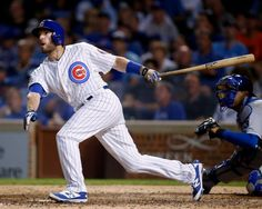 chicago cubs 9/28/15 | Chicago Cubs' Chris Denorfia connects for a walk-off home run... Photo ...