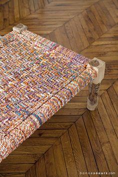 bonnesoeurs decoration salon arty 05 lit charpoy indien parquet point de hongrie