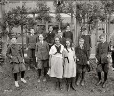 Interesting picture from Eaton School, Washington D.C. (circa 1910)