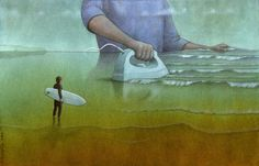 Satirical illustrations by Pawel Kuczynski - Satirical Illustrations, Satirical Cartoons, Political Art, Political Issues, Illusion Art, Art Academy, Surf Art, Pop Surrealism, Surreal Art