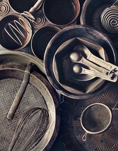 Metal food props | Still Life by Leslie Grow.
