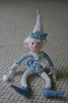 Jack Frost knitted pattern