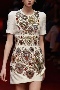 mulberry-cookies: Dolce & Gabbana Spring 2015 (Details)